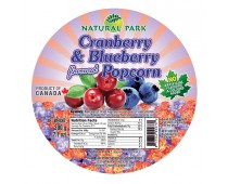 Cranberry & Blueberry Flavoured Popcorn 200g