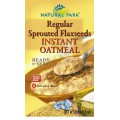 Instant Oatmeal with Sprouted Flaxseeds