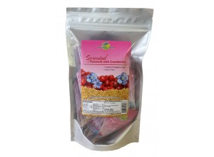 Sprouted Flaxseeds - Cranberries 200g