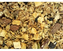 Premium Granola with Blueberries, Apples, Seeds, and Nuts