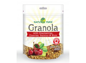 Granola with Cranberries, Cherries, Raisins and Nuts 170g
